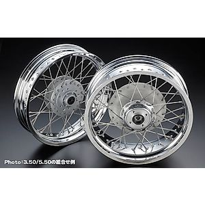 PMC(Performance Motorcycle Creative) 17 Inch 钢丝轮圈
