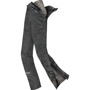 Proof AQUA ZIP II RAIN PANTS SHORT BLACK