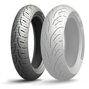 MICHELIN PILOT ROAD 4 SCOOTER [120 / 70R15 56H TL]轮胎
