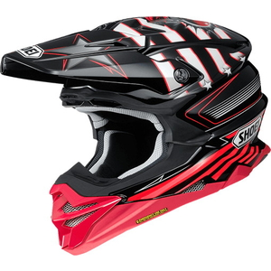 SHOEI VFX  -  WR GRANT 3 [Bouyff X  -  WR Grant 3 TC  -  1 RED / 头盔