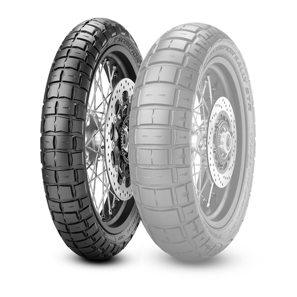 PIRELLI SCORPION RALLY STR [100 / 90-19 M / C 57V M + S TL] SCORPION RAL