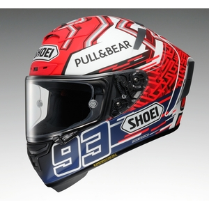 SHOEI X  -  14 MARQUEZ 5 [X  - 十四X  - 十四Marques 5 TC  -  1 RED / WHITE
