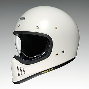 SHOEI EX - ZERO [E-X Zero Off - White ] Helmet