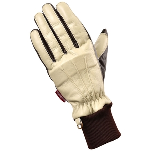 ROSSO Cold Proof/Waterproof Protect Leather Gloves Ladies