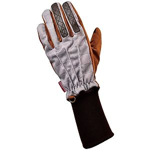 ROSSO Cold Proof/Waterproof Long Rib Check Gloves Ladies