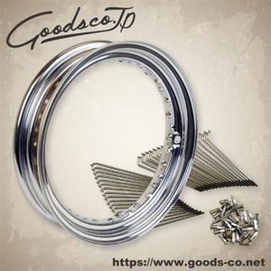 GOODS 16-inches Kit Steel Spoke Front