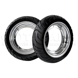 TANAKA TRADING Aluminum Wheel & Tire Set