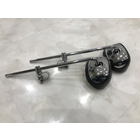 Clamp type motorcycle mirror
