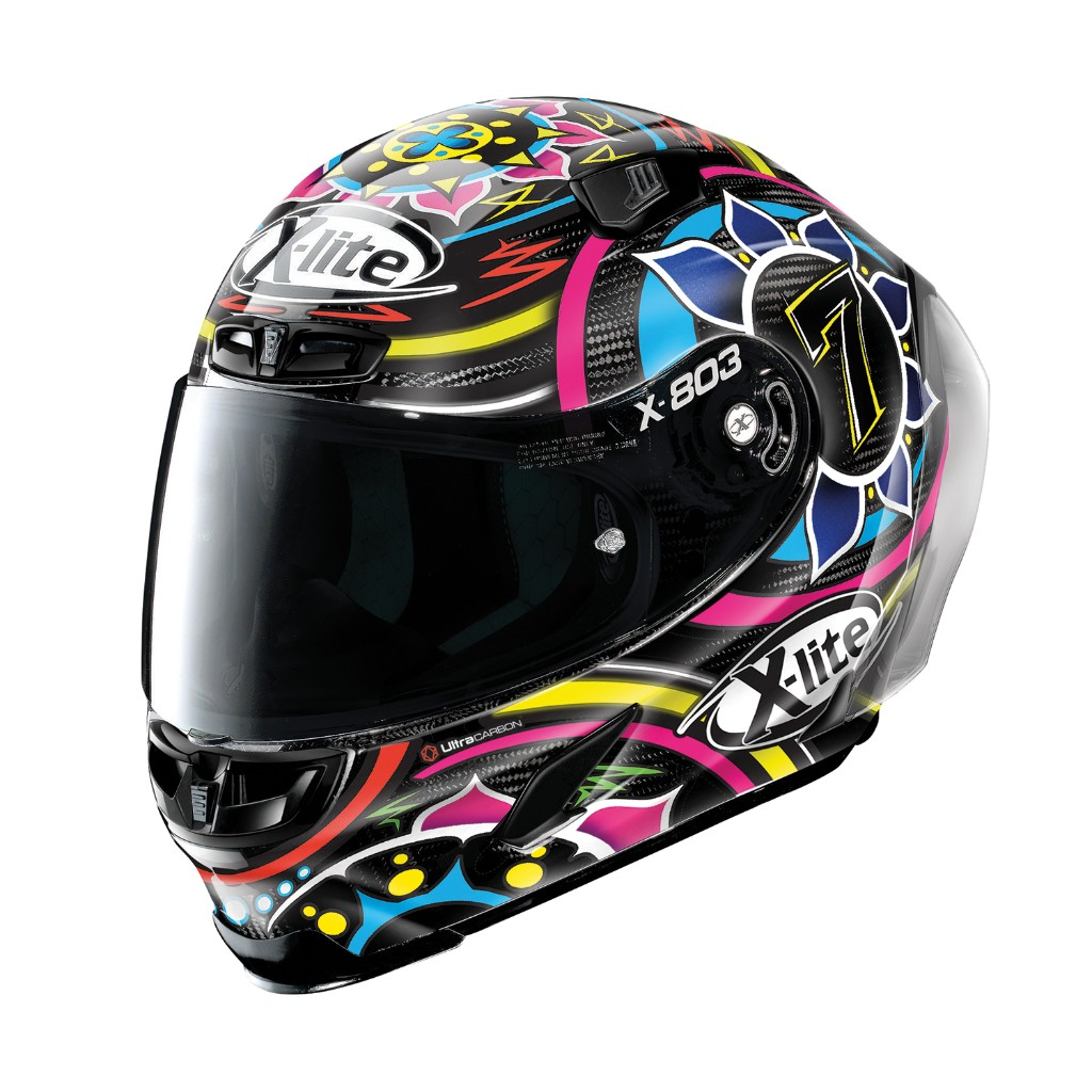 X-lite X-803RS ULTRA CARBON DAVIES Helmet