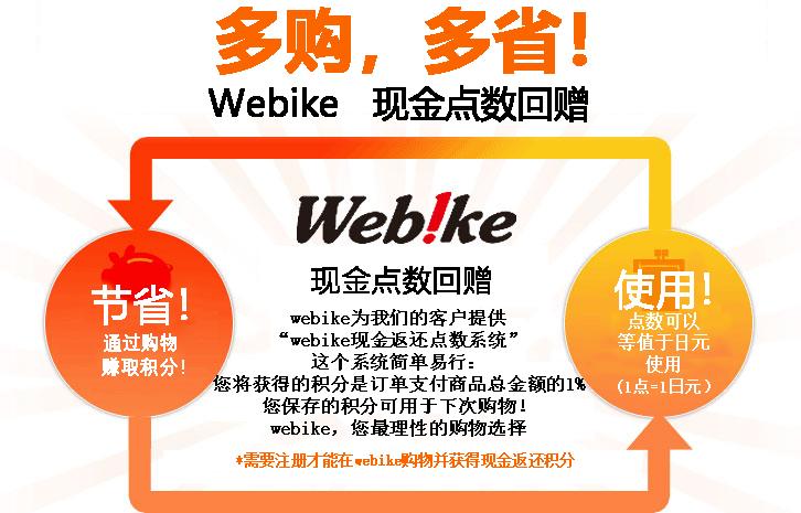 webike cash back point