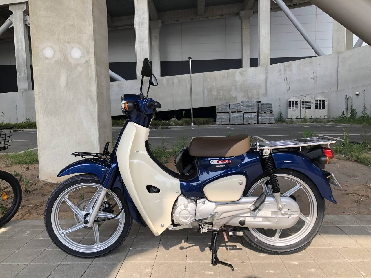 Customer S Motorcycle Jae In Lee S Honda Super Cub 110 C110 Custom Webike